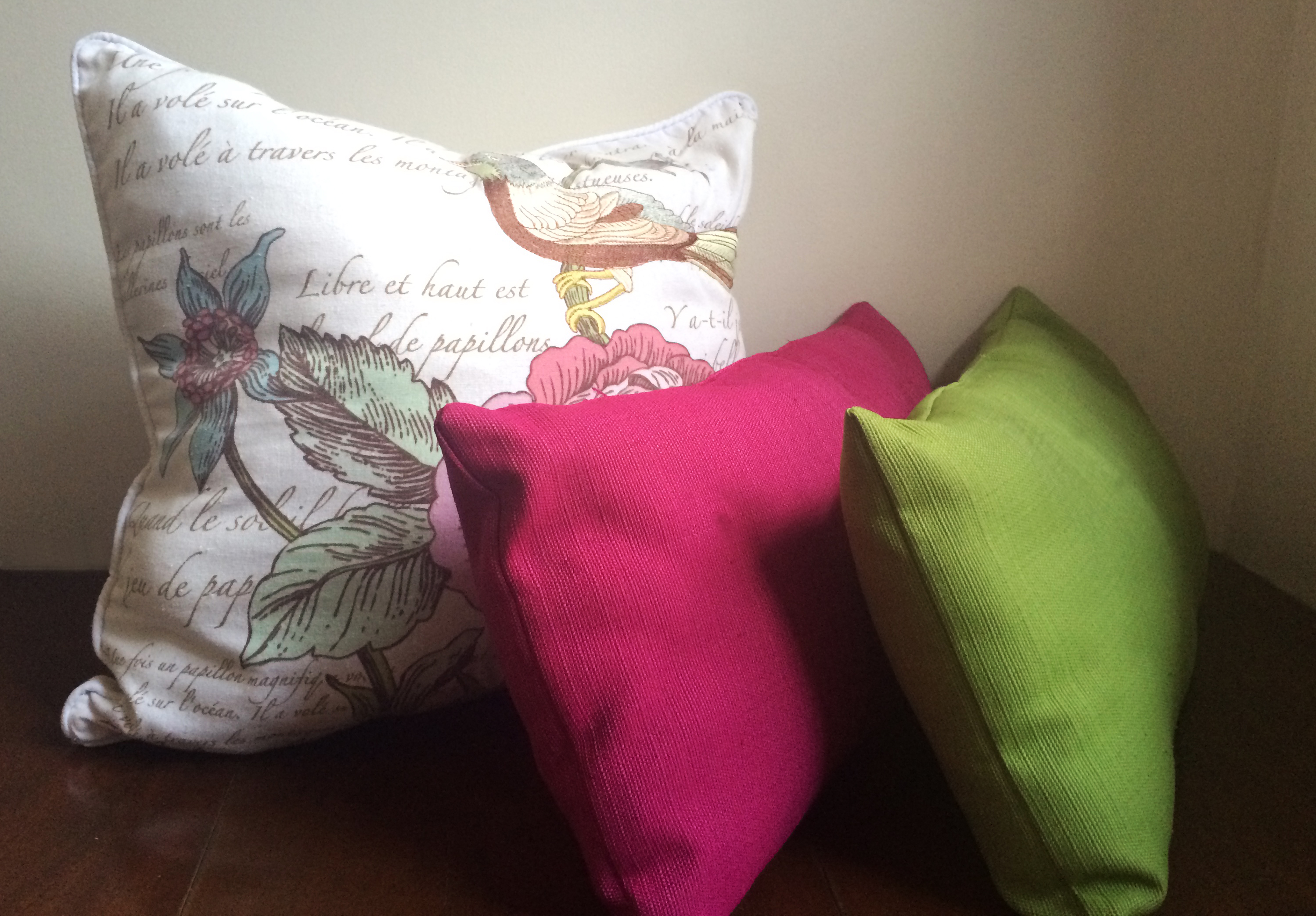 Pillows are a must-have in reading nooks.