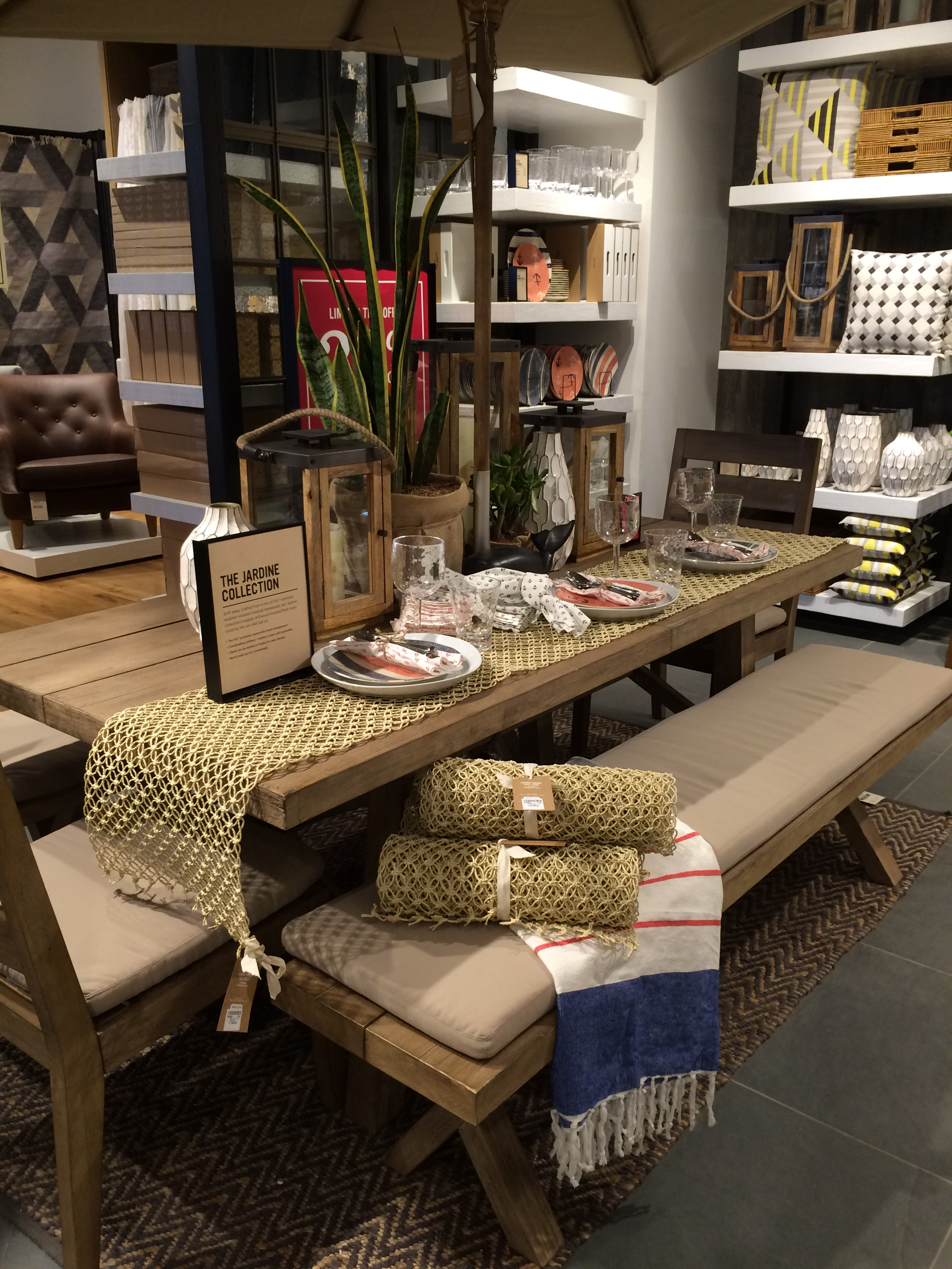 The Jardine Collection—for outdoors