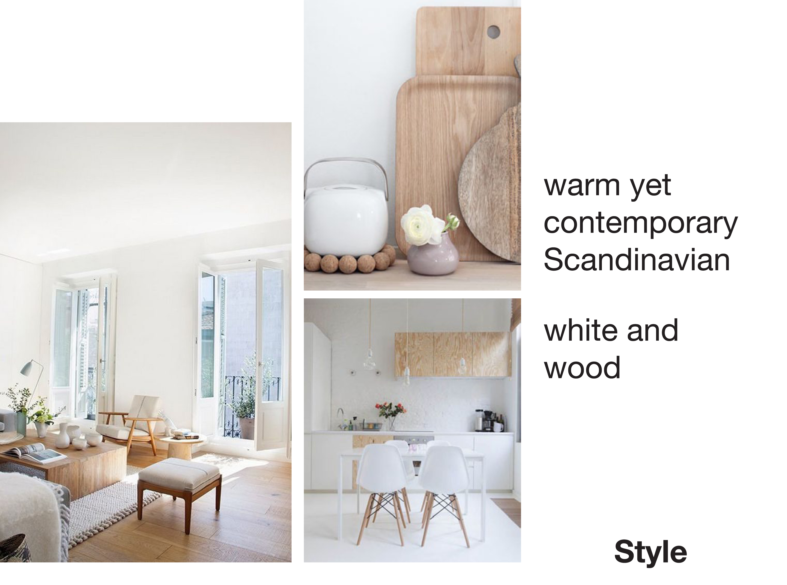 Contemporary Scandinavian Style