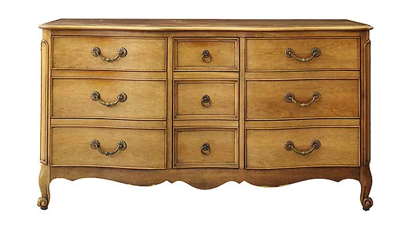 outdated chest of drawers