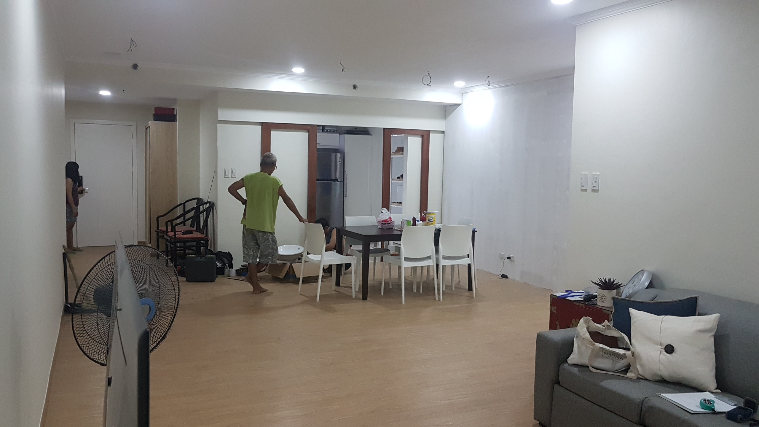 Before After Condo renovation style 20170622_154403
