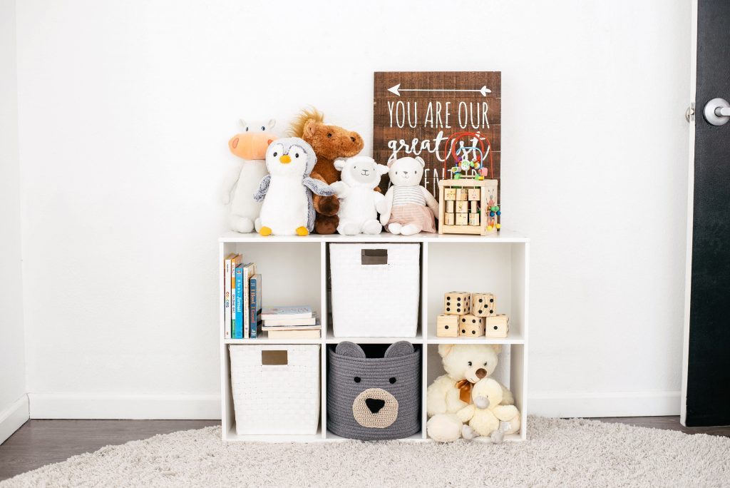organize and declutter kids' things