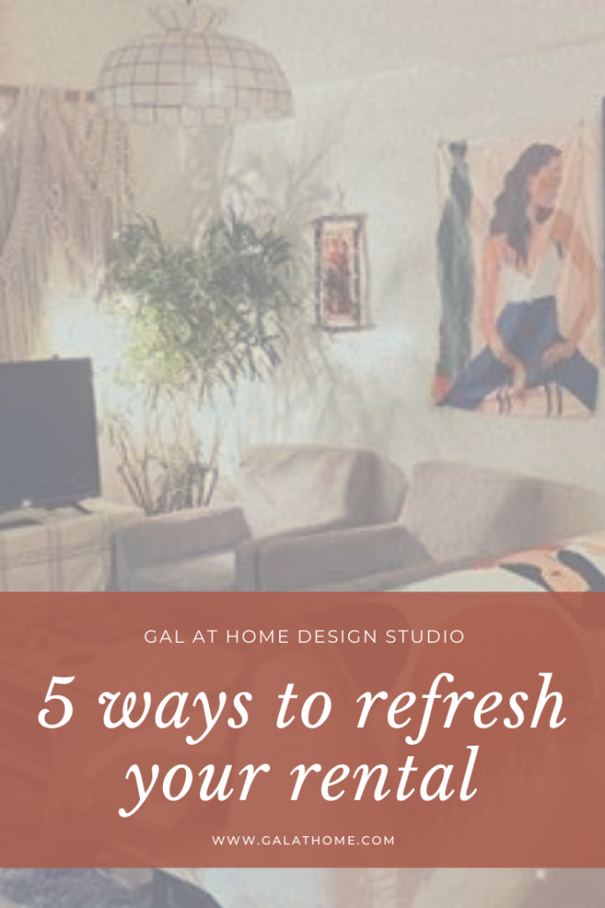 5 ways to decorate and refresh your rental condo or apartment