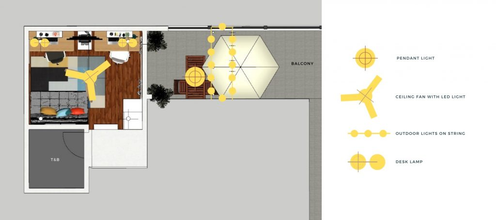 lighting layout for edesign project