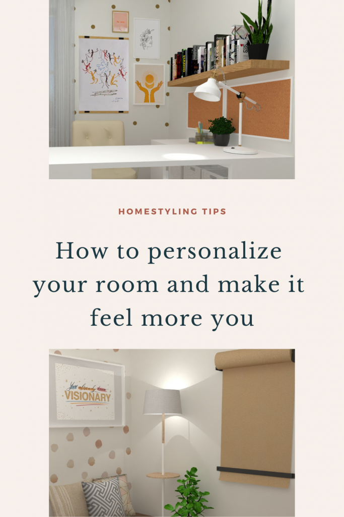 Pinterest how to make your room feel more personal