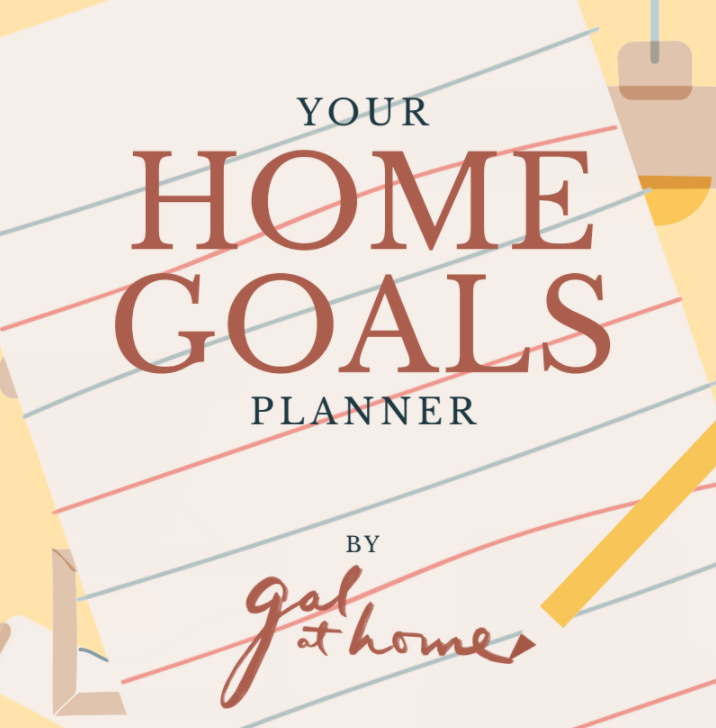 Home goals planner cover image