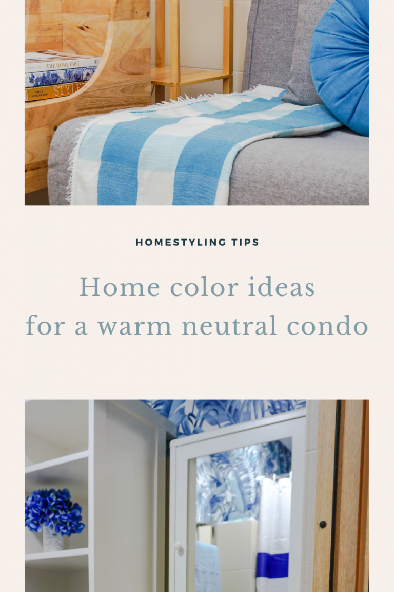 Pinterest cover image Home color ideas for neutral condo